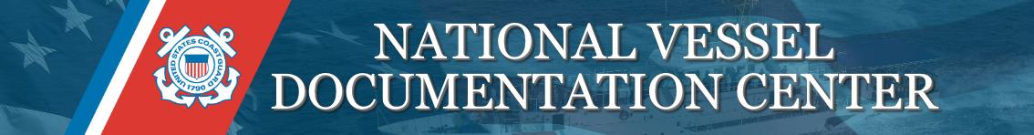 National Vessel Documentation Center Coast Guard